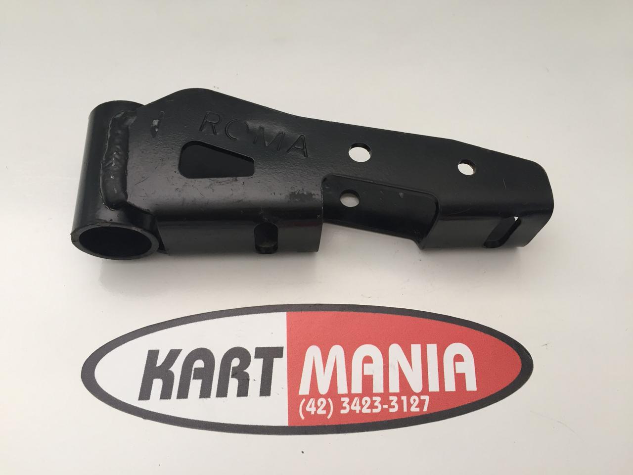 Suporte Do Parachoque Kart Mini Cada Lado - Furo 24mm