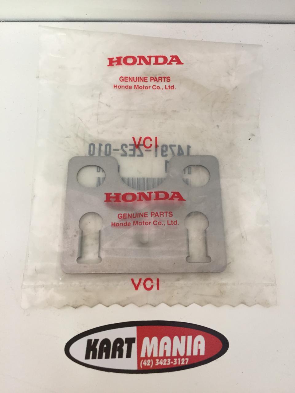 Placa Guia Da Vareta De Valvula Original Honda